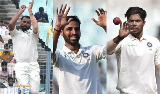 Indian Pace Trio Receives Boost