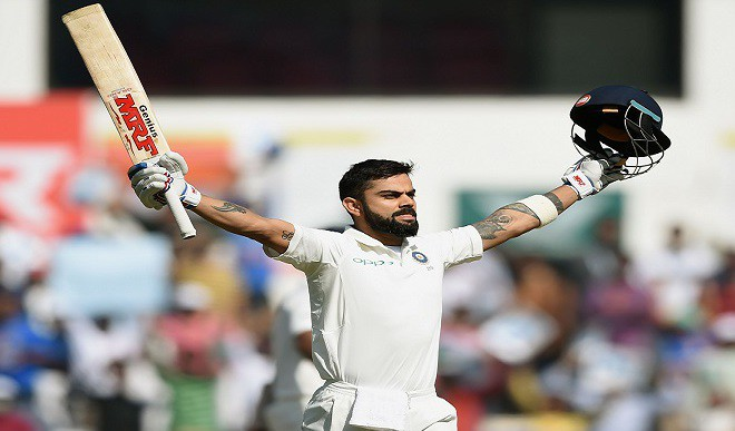 Kohli's New Record: Most Int'l Tons As Captain In A Yr