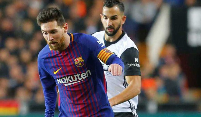 Messi Denied Goal Against Valencia