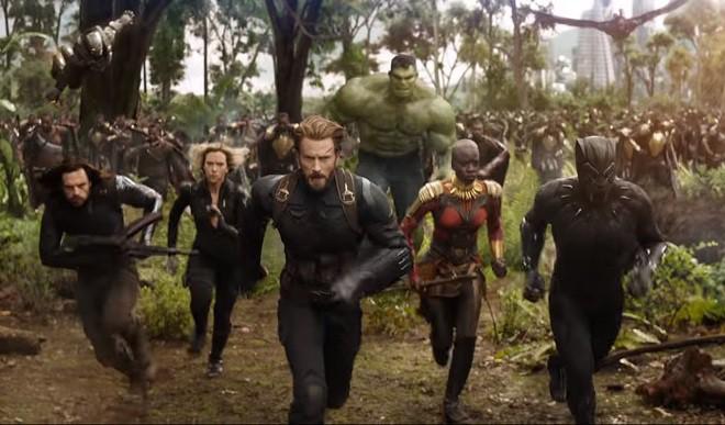 Avengers: Infinity War Trailer Is Kaboom!
