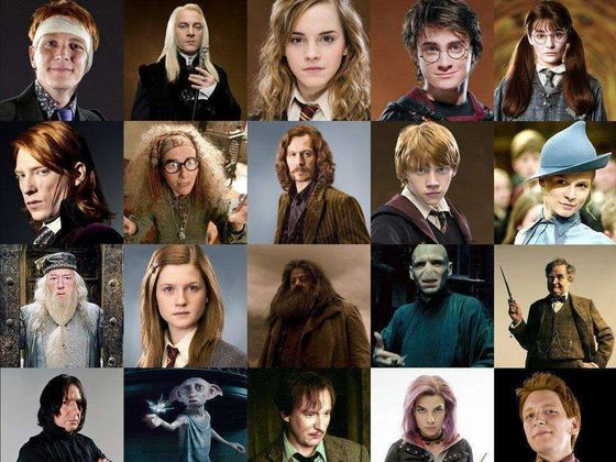 Roma R: Who's Your Favorite Harry Potter Character?