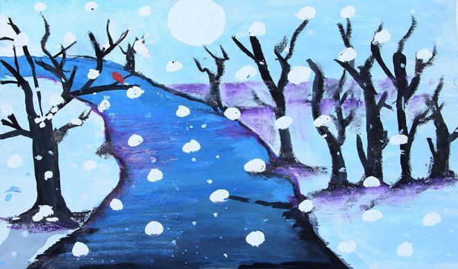 Painting By Lavanya Mittal