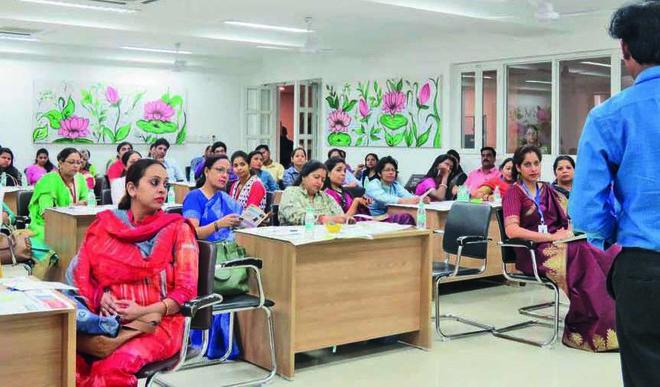 Shree Ram World School, Dwarka Hosts Teachers' Meet