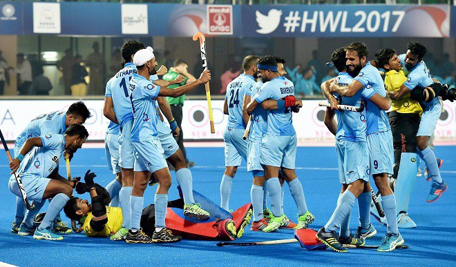 India Beat Belgium To Enter HWL Semi