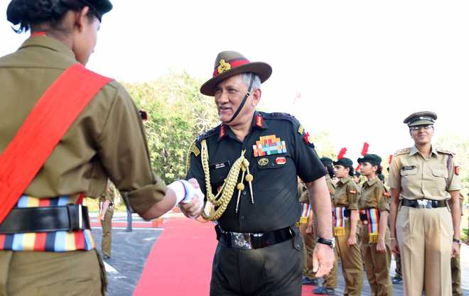 Put Country First, General Rawat Tells Students
