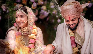 Celebrities Tweet Blessings For Virushka