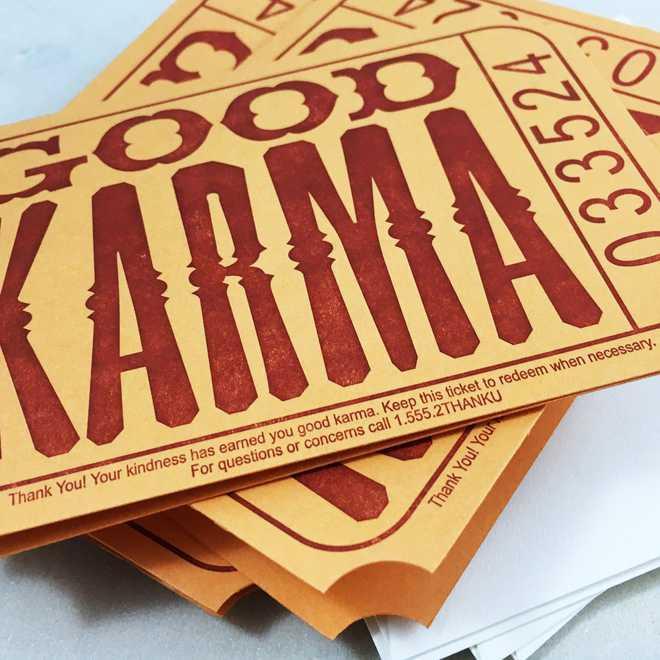 Act Mindfully Create Good Karma