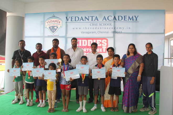 Kiddies Sports Meet at Vedanta Academy