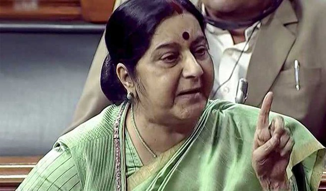 'Pak Made Jadhav's Wife, Mother Appear As Widows To Him': Swaraj