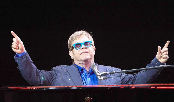 Elton Returns To Broadway