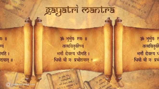 Gayatri Mantra A Prayer For Morning