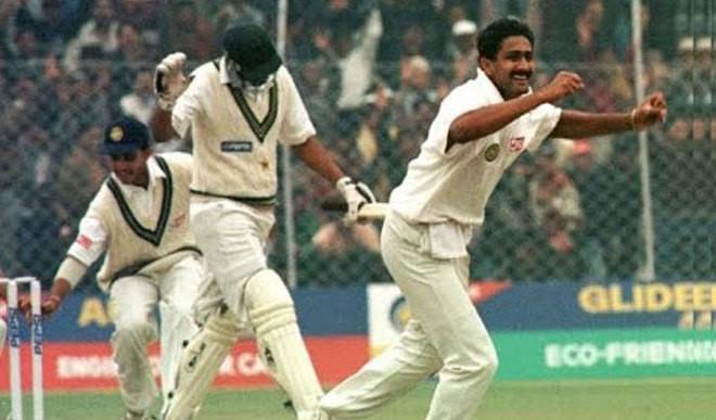 Kumble Claimed 10/74 vs Pak Today