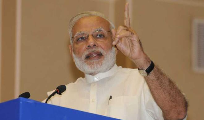 PM Modi Takes A Jibe At Rahul Gandhi, Cong.