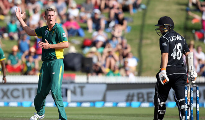 South Africa Sneak Home Against NZ
