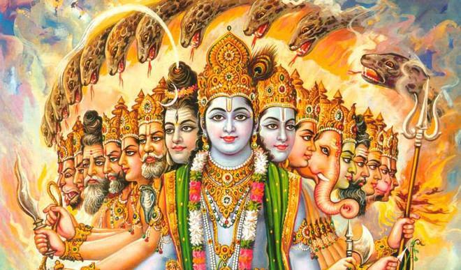 Vishwarupa, Manifestation Of Timelessness
