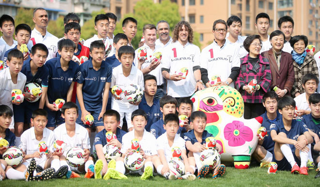 China Plans For 50,000 Football Academies