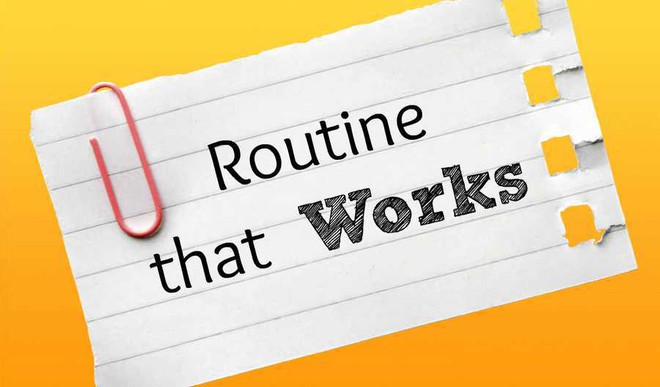 Shruti Writes On Routine