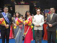 Blessing ceremony at Lucknow Public Collegiate