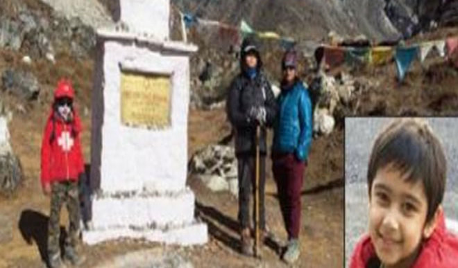 Youngest To Reach Everest Camp