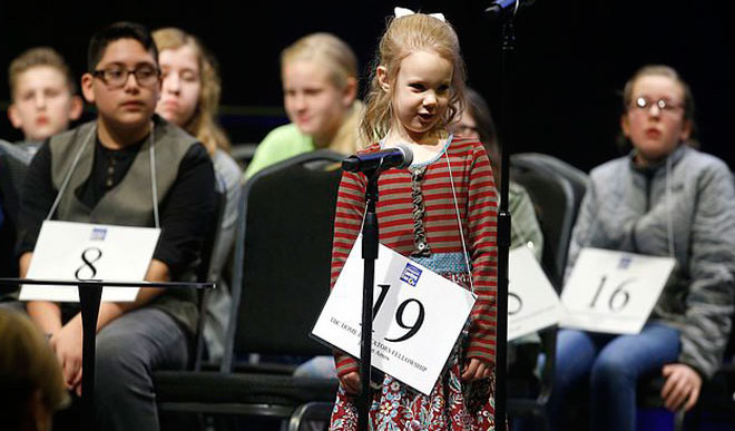 5-Year-Old Wins Spelling Bee