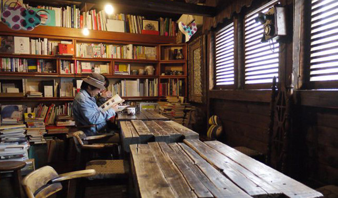 Amazing Book Cafes In India