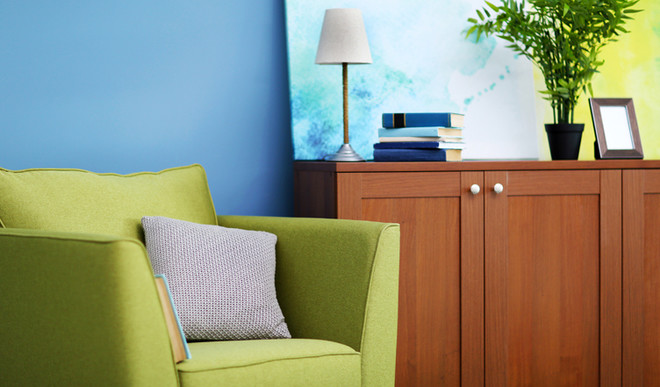 Add Blue And Green To Your Décor