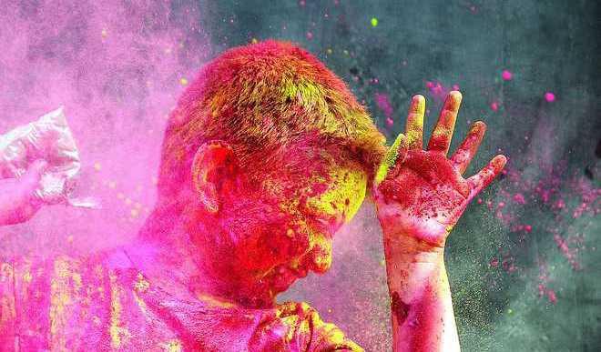 Holi celebrations at KidZania Delhi NCR