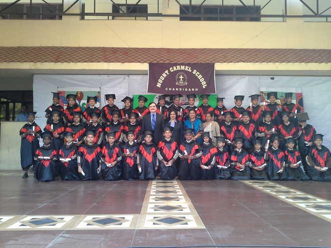 Mt Carmel Felicitates Students On Graduating To Middle School Level
