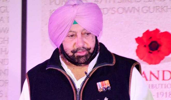 In Punjab, Amarinder Singh Sworn In As CM