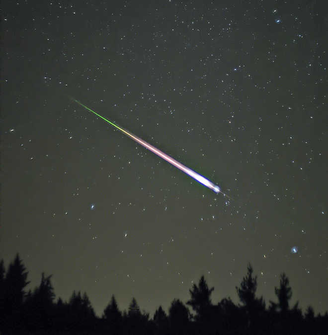 The Intensity Of A Meteor Shower