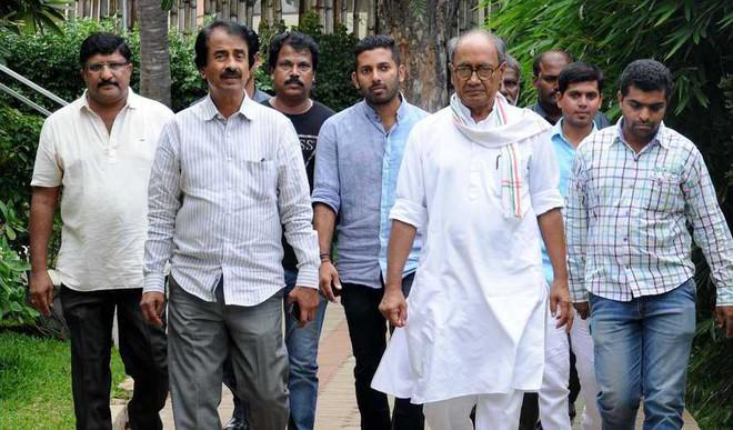 Digvijaya Blames Cong Leaders For Goa Fiasco