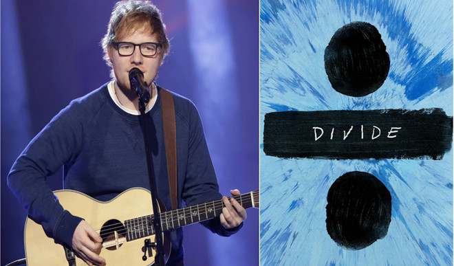 Ed Sheeran's 'Divide' tops Billboard