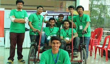IIT-Guwahati Students Build Car