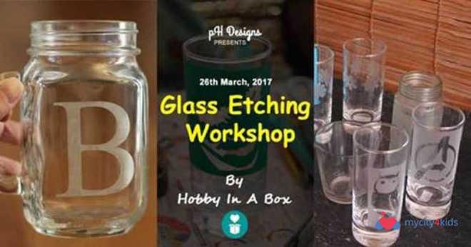 Glass Etching Workshop