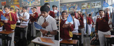 Students Pledge To Save Water
