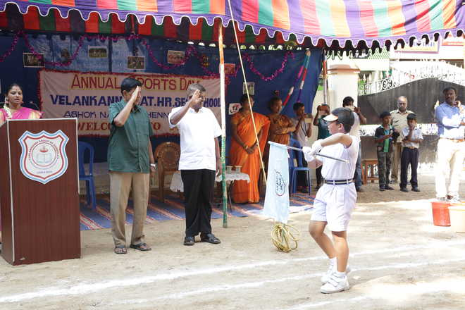 Annual Sports Day at Velankanni School