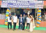 Narayana School, Howrah holds first sports meet