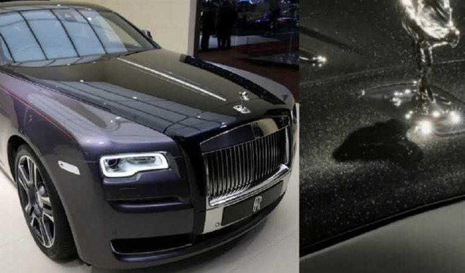 Know What This Rolls-Royce Is Made Of?