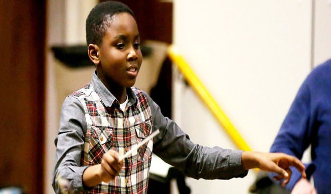 Black Teen Composer Makes News