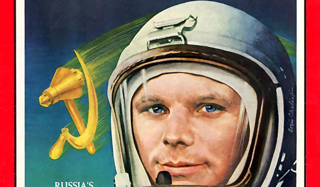 This Day: The First Man Landed in Space