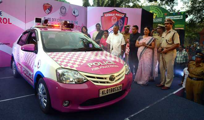 Pink Patrol Vehicles. Is It Enough To Ensure Safety?