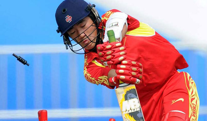 China Bowled Out For 28