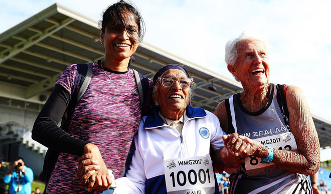 101-Yr-Old Indian Woman Wins Gold