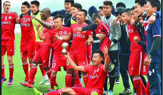 Aizawl Club Scripts Footballing Fairytale