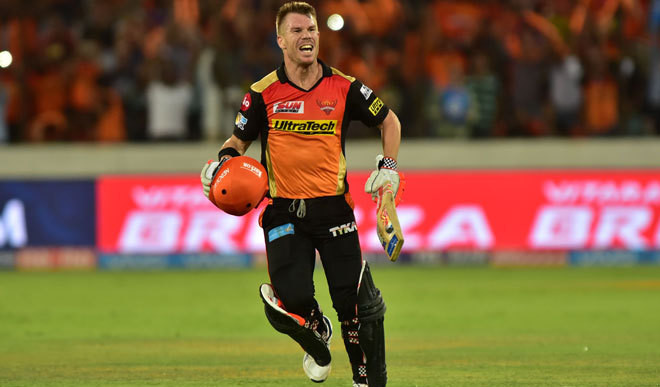 Warner's 59-ball 126 Deflates KKR