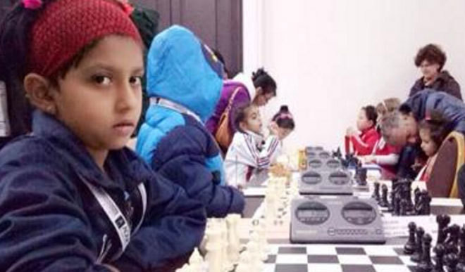 Kid Wins At World School Chess Meet