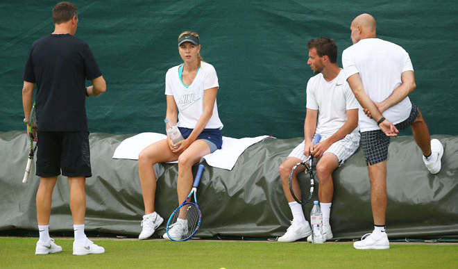 Wimbledon Wildcard Wait For Sharapova