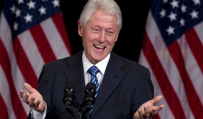 Bill Clinton Co-Writing His First Thriller