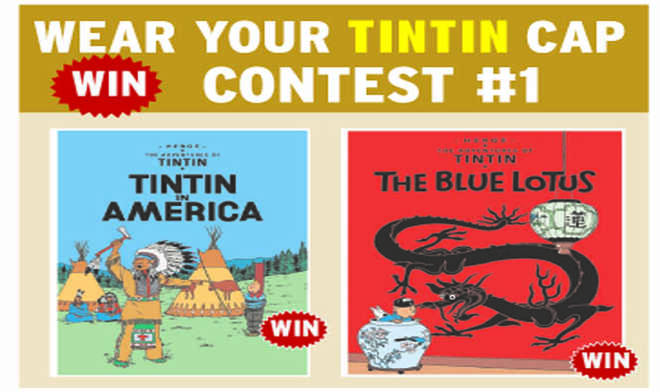 Win Win Win! The Tintin Contest. Hurry