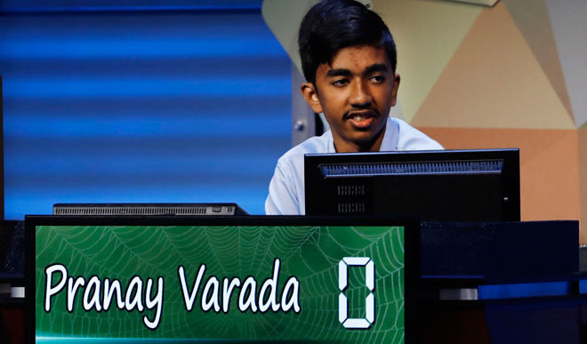 Indian Origin Kid Wins Spell Bee In US